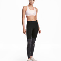 H&M Color-block Sports Tights $29.99