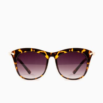 ShopSosie Style : Gaze Out Sunglasses in Tortoise