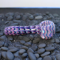 Color Changing Glass pipe American Made