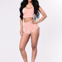 Summer Ready Shorts - Mauve