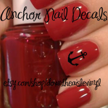 Anchor Nail Decals - Set of 50