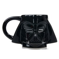 Black Star Wars Darth Vader Sculpted Ceramic Mug