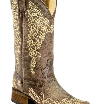 Best Embroidered Cowgirl Boots Products on Wanelo