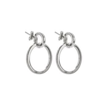 SOOP SOOP - Ribeyron 2 Circle Earrings