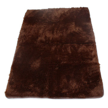 Velvet Tapis Rugs Carpets Para Casa Fluffy Anti-Slip Shaggy Area Rug For Living Room