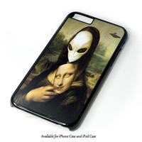 Mona Lisa Alien Design for iPhone and iPod Touch Case