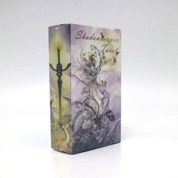 LMFON1O Shadowscapes English Tarot Cards Board Game Cards Day First