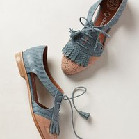 Atherton D'Orsays by Jeffrey Campbell Blue Motif