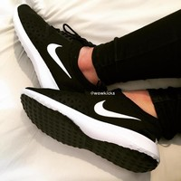 """Nike"" Fashion Women Sport Shoes Casual Sneakers Juvenate Black"