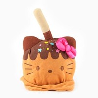 Hello Kitty Reversible Plush: Caramel Apple