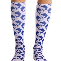 Shark Knee High Socks