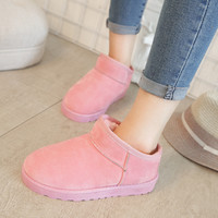Hot Deal On Sale Thicken Winter Simple Design Boots [8865344588]