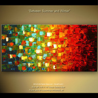 ORIGINAL Modern Abstract Art Painting On a Stretched by osbox