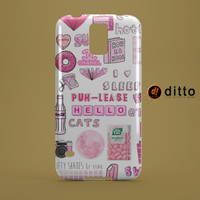 MY PINK PASSION Design Custom Case by ditto! for Samsung Galaxy s3 s4 & s5 and Note 2 3 4 iPhone 6 6 Plus iPhone 5 5s 5c iPhone 4 4s