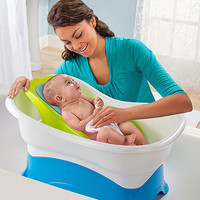 Summer Infant Right Height Bath Tub - Blue