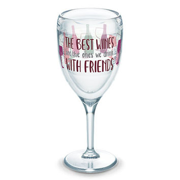 Ones we Drink with Friends Acrylic Stemmed Glass by Tervis