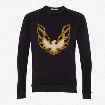 Trans Am Firebird logo fleece crewneck sweatshirt