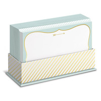 Mint and Gold Arrow Flat Notes Boxed Set
