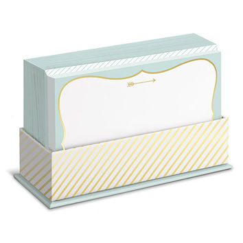 Mint and Gold Flat Notes Boxed Set