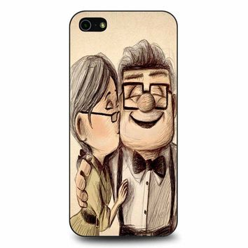 Up Disney Pixar Carl And Ellie iPhone 5/5s/SE Case