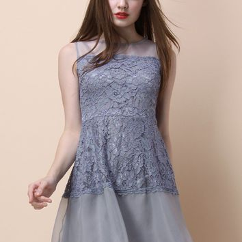 Awakening Lace Instinct Sleeveless Dress
