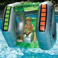 Shade Starfighter Super Squirter Inflatable Summer Kids Swimming Pool Toy