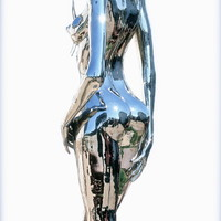 "Saatchi Online Artist: Gregory Coffelt; Metal, 2011, Sculpture ""Evolution of Eve figure IV"""