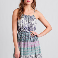 Stone Mountain Printed Dress
