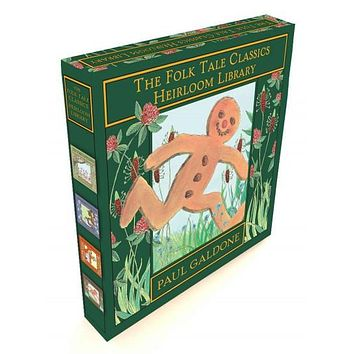 The Folk Tale Classics Heirloom Library: The Gingerbread Boy, Little Red Riding Hood, the Three Billy Goats Gruff, the Three Little Pigs (The Folk Tale Classics)