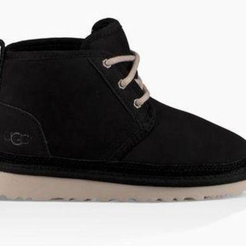 DCCKL8A jacklish UGG Junior's Black Neumel 1006652