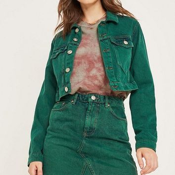 UO Austin Notched Mini Skirt   Urban Outfitters