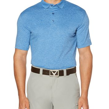 Licensed Golf Callaway  Cooling Heathered Men's Polo Shirt - Pick Color & Size