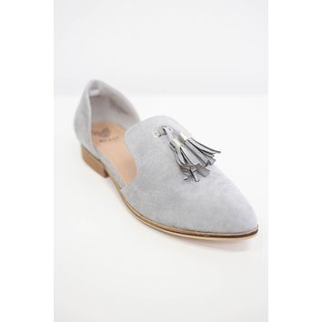 Sassy & Chic Loafers - Stone