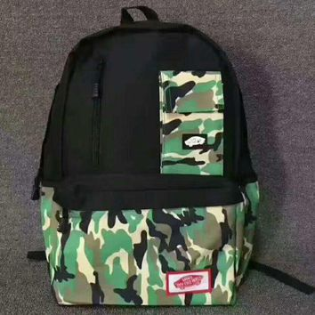 ESBUF3 VANS' Camouflage Trending Fashion Sport Laptop Bag Shoulder School Bag Backpack G-JJ-MYZDL