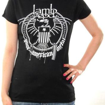 Lamb Of God Girls T-Shirt - Seal