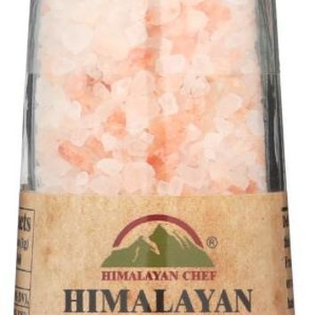 HIMALAYAN CHEF: Grinder Salt Himalayan Pink Re, 13 oz