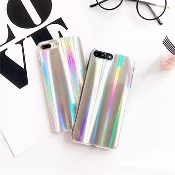 Iridescent Hologram Unicorn Color IPhone Cases Back Cover