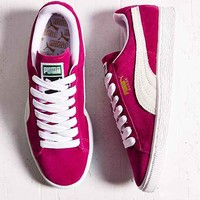Puma Classic Lace-Up Sneaker- Berry