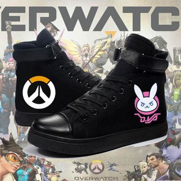 Overwatch Hero Sneakers Dva McCree Soldier 76 Tracer Lucio Genji