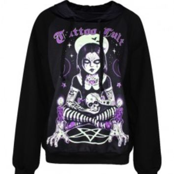 Halloween Purple Curse Witch Hoody