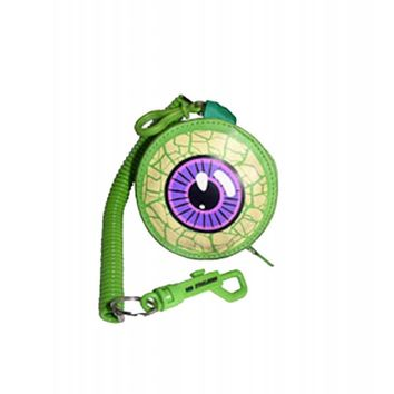 Kreepsville Eyeball Purse Green