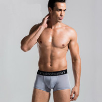 Men Underwear Solid Color Male Sexy Casual Boxer Europe and America 2016 New Hot Sale DYY1527