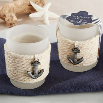 Nautical Tea Light Holders (Set of 4)