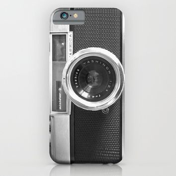 Camera iPhone & iPod Case by Nicklas Gustafsson | Society6