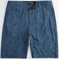 O'neill Loaded Mens Hybrid Shorts - Boardshorts And Walkshorts In One Navy  In Sizes