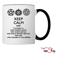 Supernatural Keep Calm and Exorcise Coffee & Tea Mug