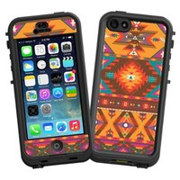 """Aztec Tribal """"Protective Decal Skin"""" for LifeProof nuud iPhone 5 Case"""