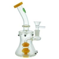 "8"" Water Pipe + Shower head + Bent Neck + Color"
