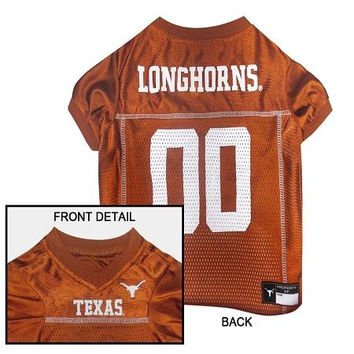 Texas Longhorns Pet Jersey XL