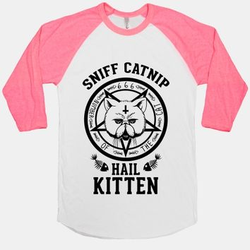 Sniff Catnip. Hail Kitten. | T-Shirts, Tank Tops, Sweatshirts and Hoodies | Human